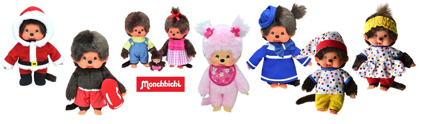 Monchichi knuffels